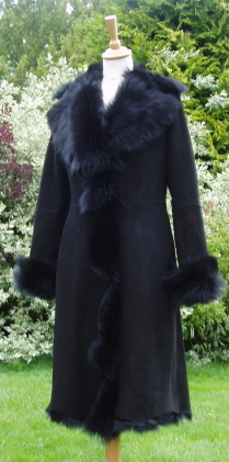 Knee Length Toscana Shearling Coats